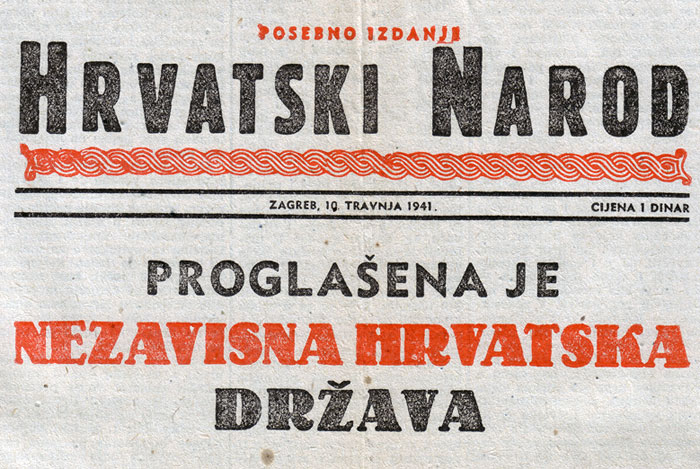 VIDEO 10. travnja 1941. – Proglašena Nezavisna Država Hrvatska ...